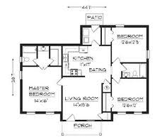 images about Building Our New House on Pinterest   Ranch    one story ranch style house plans   One story homes  or ranch style house