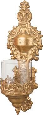 <b>Подсвечник Lefard</b>, 223-031, настенный, бронза, 13 х 14 х 38 см ...