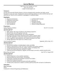 forklift operator sample resumes template forklift operator sample resumes