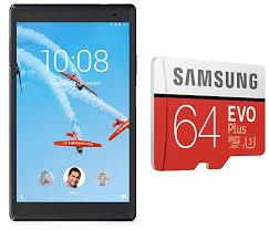 Buy <b>Lenovo</b> Tab4 8 Plus Tablet (8 inch, <b>64GB</b>, Wi-Fi + 4G LTE + ...