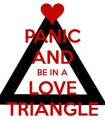 Love is not a triangle: Let's Discuss THE LOVE TRIANGLE OF DOOM via Relatably.com