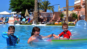 <b>Sol Sun Beach Apartments</b>. Room Tour, swimming pool area ...