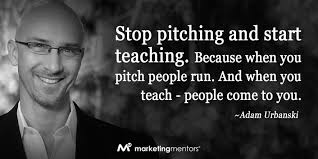 Image result for Stop pitching sales