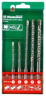 Набор SDS-plus <b>Hammer 201-901</b> (30775) — купить по выгодной ...