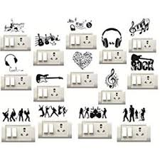 <b>Sticker</b> Studio Music Instruments <b>Switch</b> Board <b>Sticker</b> (Set of 14 ...