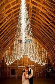 creative lighting options for your wedding day barn wedding lights