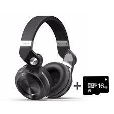 Wireless Headphone <b>Bluedio T2 Plus</b> MP3 Player FM Radio ...