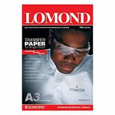 <b>Термотрансферная бумага Lomond A4</b> Ink Jet Transfer Paper for ...