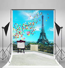 Amazon.com : <b>Laeacco</b> 5x7ft Vinyl Photography Backdrop Romantic ...