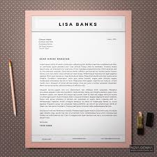 resume templates cv template design cover letter modern chic chic resume cover letter