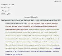 annotated bibliography paper the prices for the followingb types of assignments i e essay term paper research paper book report middot what is annotated bibliography outline example