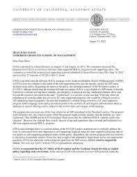 letter rejecting self sufficiency proposal by ucla anderson school letter rejecting self sufficiency proposal by ucla anderson school of management by daniel j b mitchell page 1 issuu