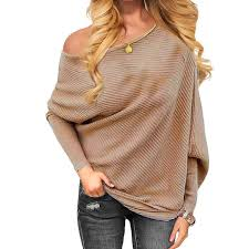 Pull Femme 2019 <b>Spring</b> Sexy Off Shoulder Sweater <b>Women</b>