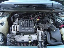 buick v6 engine a 3800 series i l27 naturally aspirated engine installed transversely in a 1995 buick regal