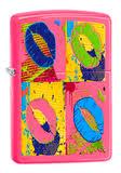 <b>Зажигалка Zippo Classic с</b> покрытием Neon Pink, латунь/сталь ...