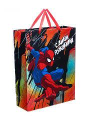 """<b>Пакет подарочный</b> """"Ты лучший"""" Человек паук 18*23*10 см Disney ..."""