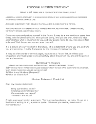mission statement templates word excel sheet pdf
