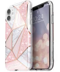 Vena iPhone 11 Marble Glitter Case, Melange <b>Glitter Marble</b> ...