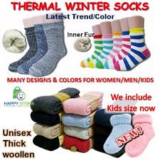 WOMEN / MEN SUPER THICK AND WARM THERMAL ... - Qoo10