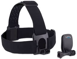 <b>GoPro Head Strap</b> + <b>QuickClip крепление</b> на голову + клипса