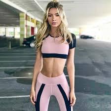 <b>Fashion Sport Clothing Women</b> Sport Suit Running Set Gym ...
