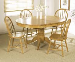 extendable dining table set: round extendable dining table and chairs