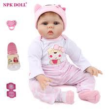 """<b>NPKDOLL</b> 55cm Soft <b>Silicone Doll Reborn Baby</b> 22"""" Toy For Girls ..."""