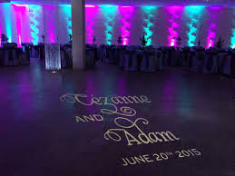 teal and fuschia uplighting for banquet hall rent online for 19each free beautiful color table uplighting