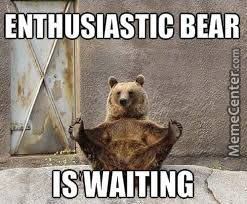 Enthusiastic Bear. by ender_films - Meme Center via Relatably.com