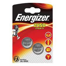 <b>Батарейки ENERGIZER</b>, CR 2450, литиевые, КОМПЛЕКТ 2 шт., в ...