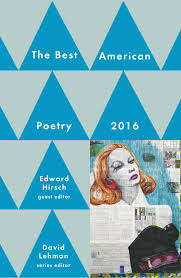 best american poetry book by david lehman edward hirsch best american poetry 2016 9781501127557 hr
