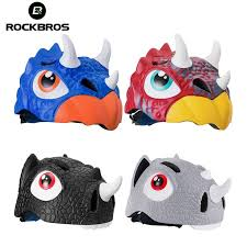 <b>ROCKBROS Cycling Bike Bicycle</b> Cartoon Sports Child Helmets ...