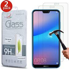 [2 Pack] <b>Huawei</b> P20 Lite Screen Protector - Gorilla <b>Tempered Glass</b> ...