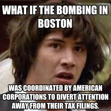 What if the bombing in boston Was coordinated by american ... via Relatably.com