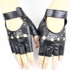 Fingerless Drivers <b>Ms</b>. Fashion Style Hollow Rivet <b>Half</b> Finger 100 ...