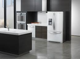 black and stainless kitchen black and white kitchen cabinets black kitchen cabinets with white appliances