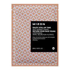 Mizon <b>Маска листовая для</b> лица антивозрастная - Enjoy vital up ...