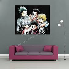 hunter x hunter wall sticker wall poster big boy girl room prints japan comic anime gon killua kurapika kuroro wdm192 big boys furniture