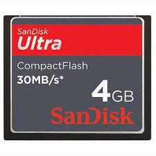 <b>Original SanDisk</b> 4GB <b>Compact Flash CF</b> Memory Card | Shopee ...