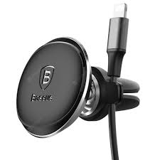 <b>Baseus Magnetic Air Vent</b> Car Mount with Cable Clip Holder Sale ...
