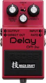 <b>BOSS DM</b>-<b>2W</b> гитарная <b>педаль</b> премиум класса Waza Craft ...