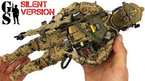 <b>German</b> KSK operator - <b>1/6</b> scale action figure DAM Toys assembly ...