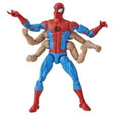 «Куклы: <b>Фигурка</b> Человек Паук (Spider-Man) шестирукий - <b>Marvel</b> ...