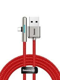 Кабель <b>Baseus Iridescent Lamp</b> HW flash charge Mobile Game ...