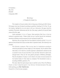 best photos of printable sample mla paper format mla format essay writing format sample