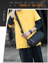<b>Heroic Knight</b> Shoulder Bag <b>Men's</b> Korean Trend Messenger Bag ...