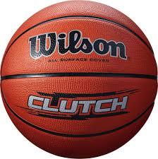 """Мяч баскетбольный Wilson <b>Мяч баскетбольный Wilson</b> """"<b>Clutch</b> ..."""