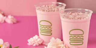 Shake Shack introduces new <b>pink cherry blossom</b> shake - INSIDER
