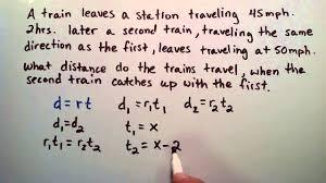 how to solve a uniform motion problem intermediate algebra how to solve a uniform motion problem intermediate algebra lesson 40 learn math tutorials