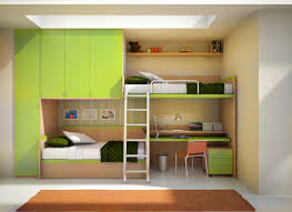 bedroom funny kids bunk bed design for small bedroom feat green painted cabinets and contemporary large amusing white bedroom design fur rug